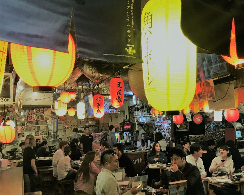 Inside the Meat Alley in Tokyo