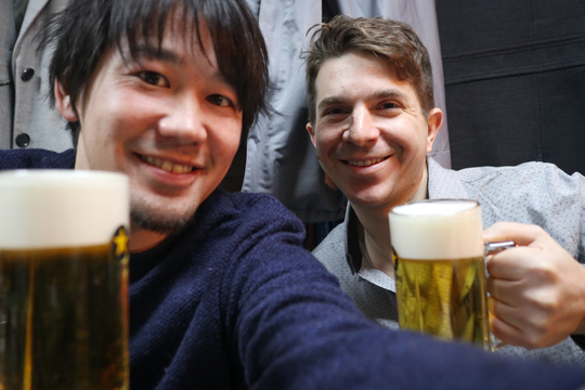 Japanese beer is a starter in MagicalTrip tours!