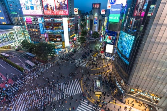 Shibuya is one of the best nightlife areas, but little makes you confused where to go at night