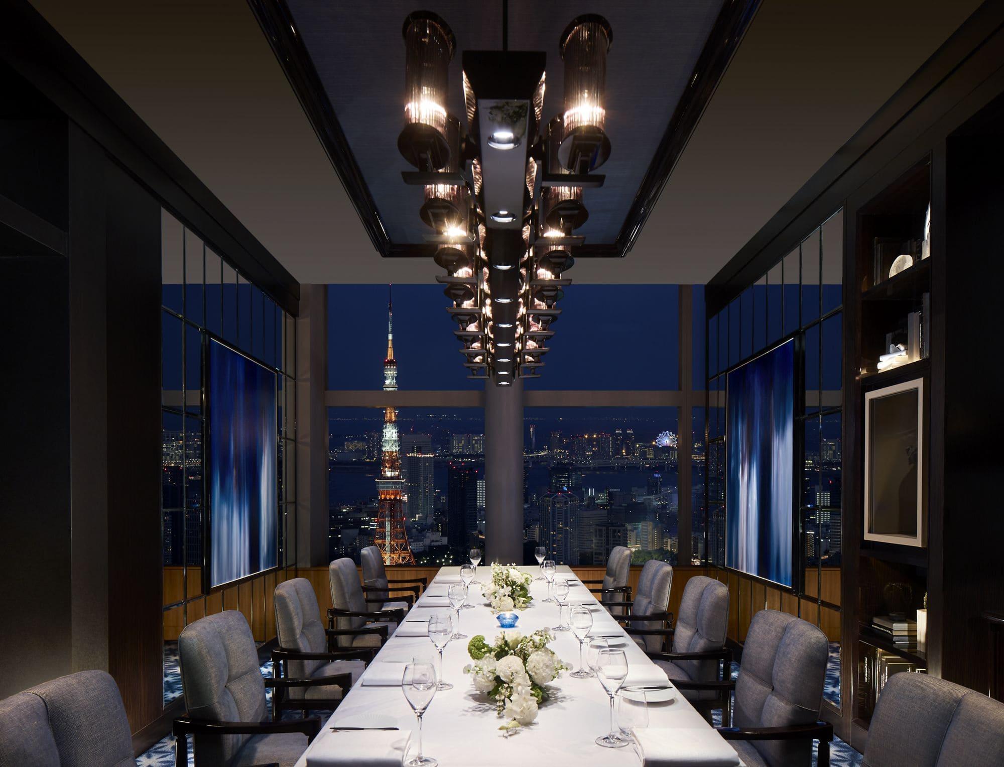Towers in Ritz Carlton Tokyo