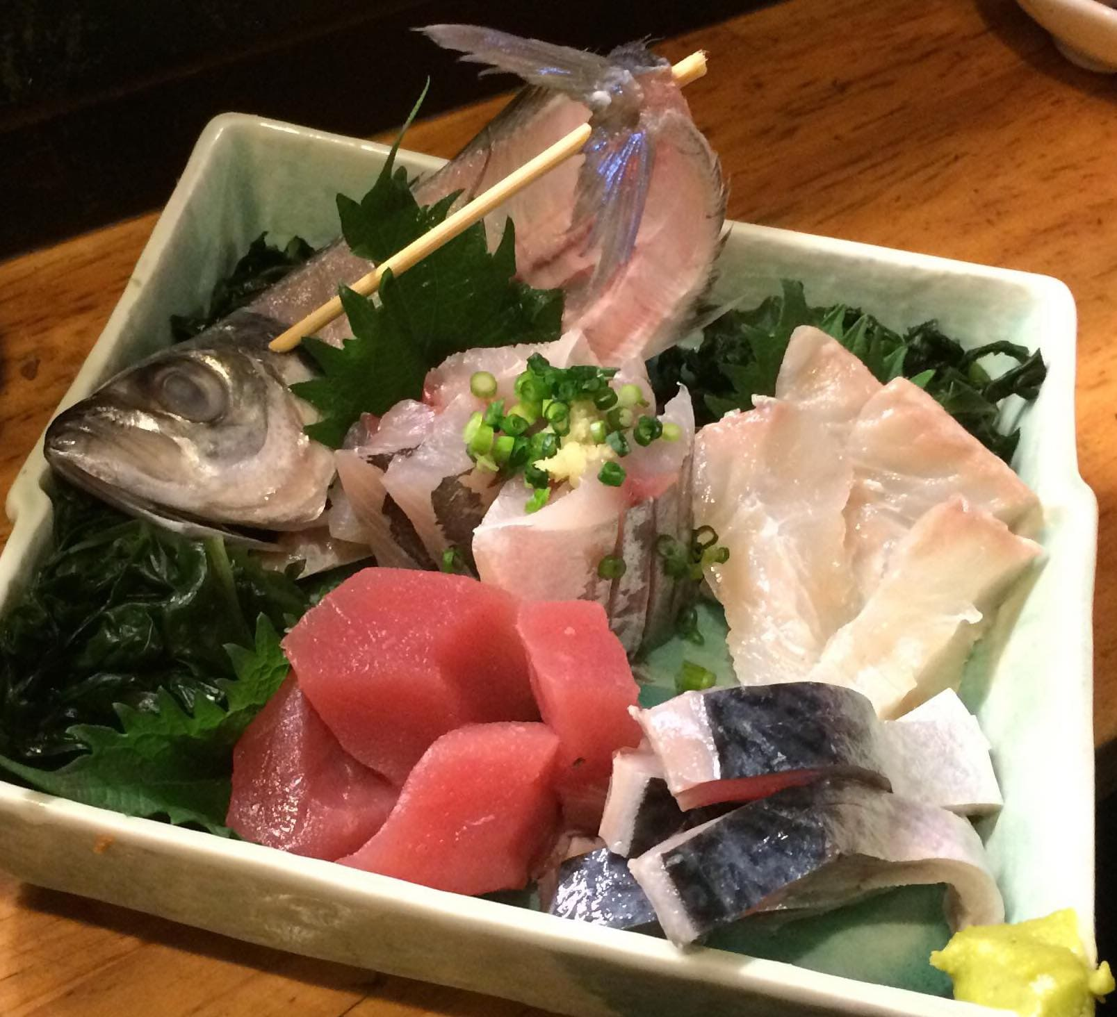 assorted sashimi. The locals love the assorted beautiful seasonal sashimi.