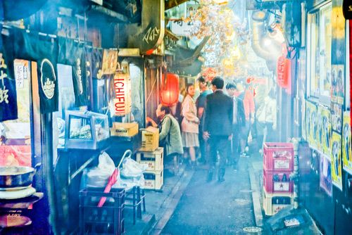 Omoide Yokocho Food Tour