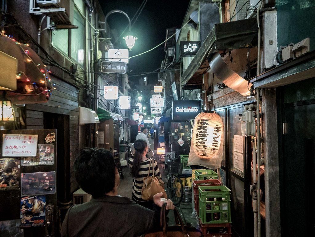 Shinjuku Golden Gai Street - Inside
